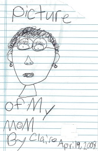 This is me as seen by my daughter