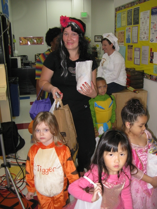 Trick or Treat at the Federal Center Day Nursery