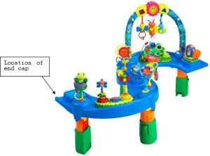 Evenflo ExerSaucer Triple Fun stationary activity center model number 6231711