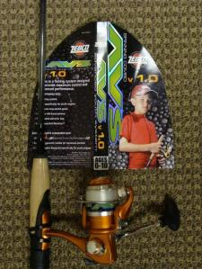 Zebco Advanced Youth Fishing Rod & Reel