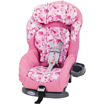 The Graco Comfortsport is an example of a car seat which converts from rear facing to front facing when you are ready.