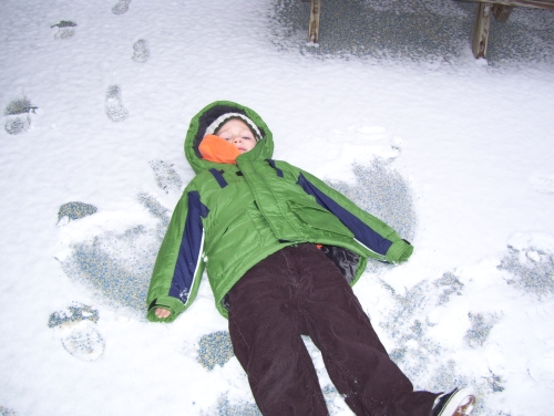 snow angel by Caden