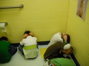 Day Nursery Avon preschool students tornado drill