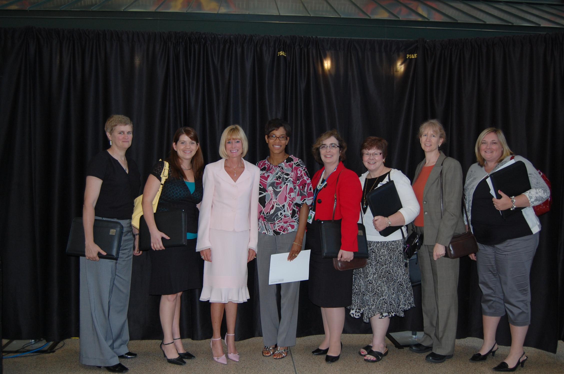 Executive Womens Leadership program participants 2010