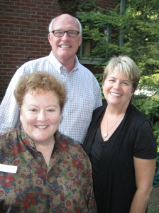 Day Nursery Executive Director Carolyn Dederer with event hosts David and Nancy Berst