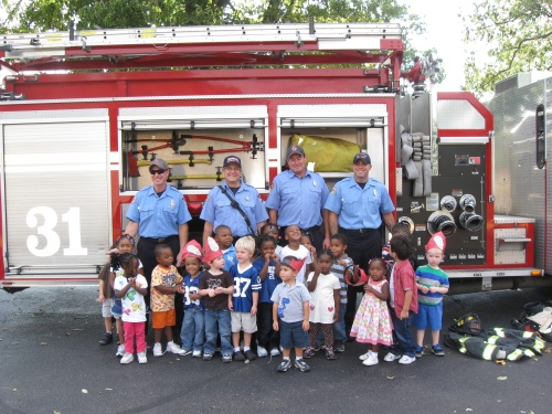 Indianapolis Fire Department Engine 31 at Day Nursery