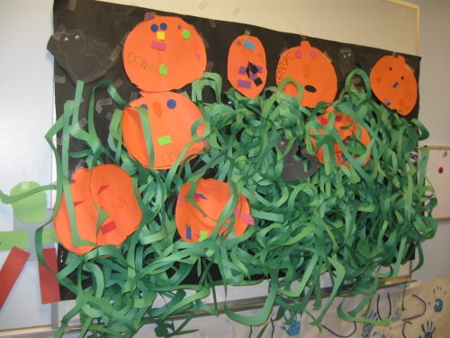 Day Nursery pumpkin patch