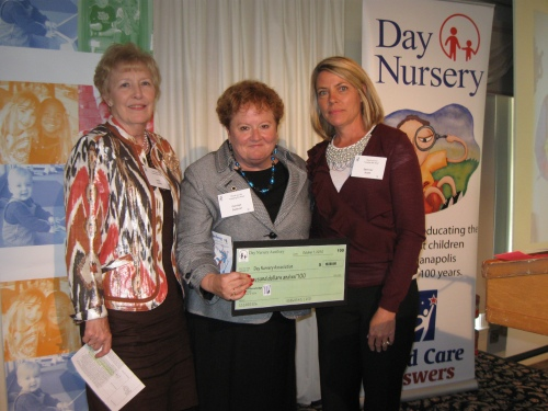 Day Nursery Auxiliary check presention
