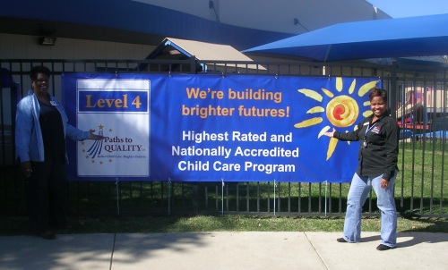 Day Nursery Clarian Center Paths to Quality banner