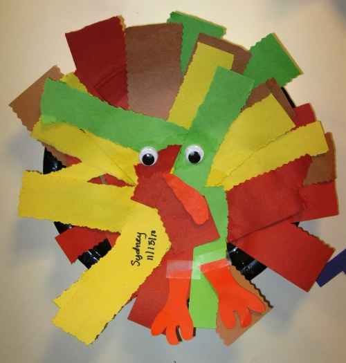 Toddler turkey