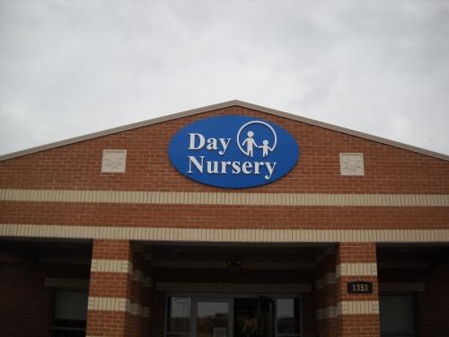 Day Nursery logo sign