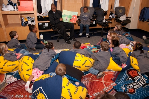 Indiana Pacers Reading Time Out