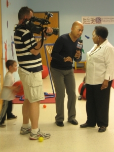 Sherman Burdette Fox 59 at Day Nursery State Govt Center