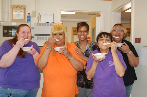 Day Nursery Start Smart 4 Children staff on Pi Day