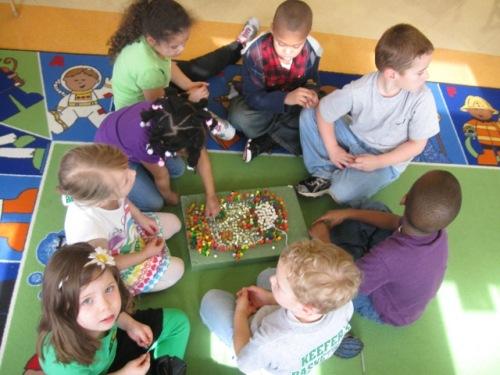 Day Nursery pre K students