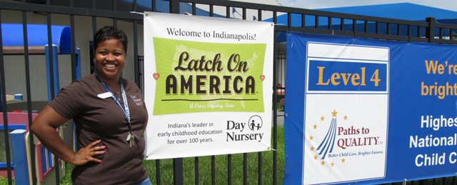 latch on america big pink bus for breastfeeding heads to