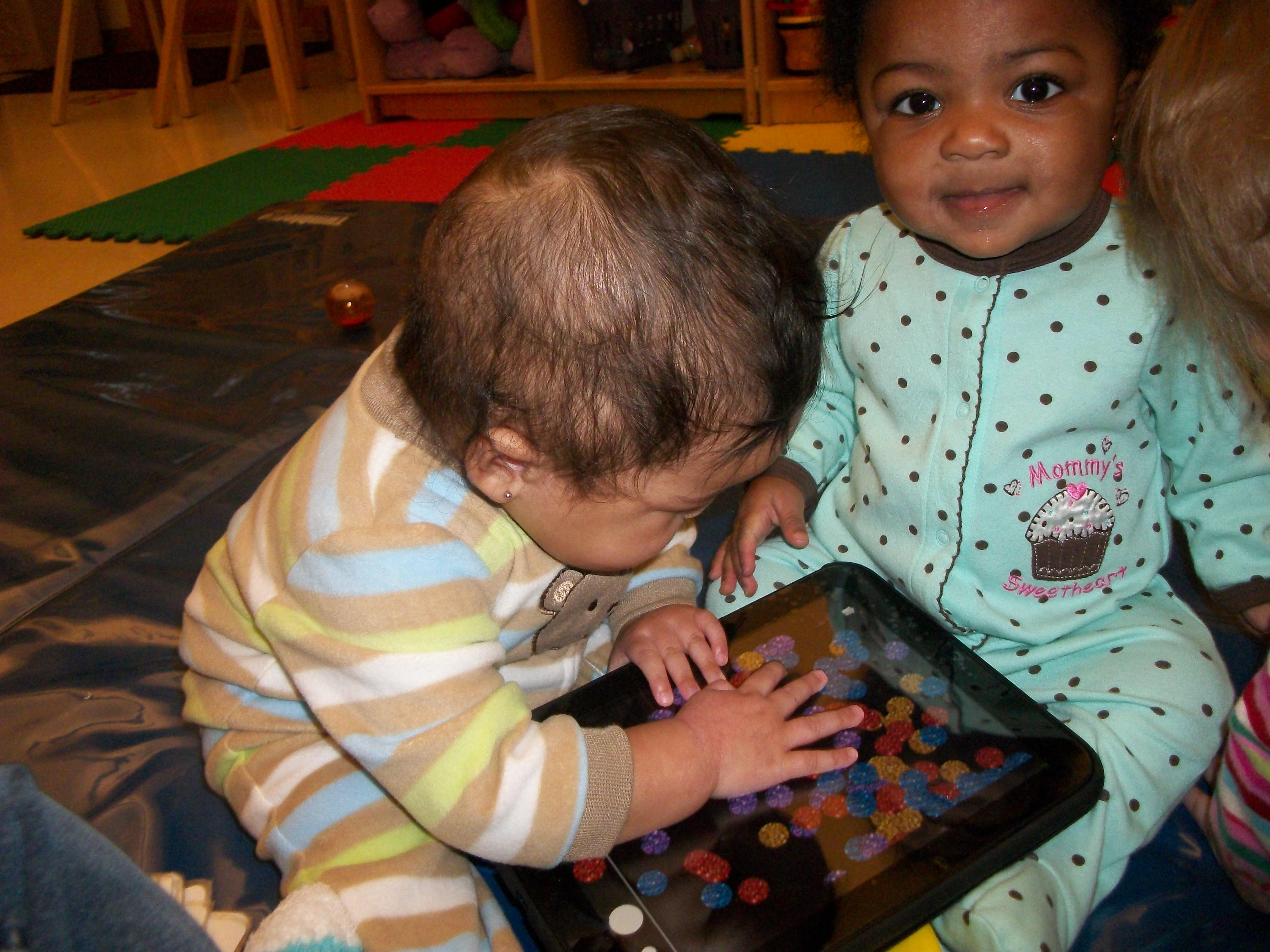 Day Nursery Ft Harrison Infants Explore Technology Day