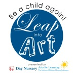 Leap Into Art event logo
