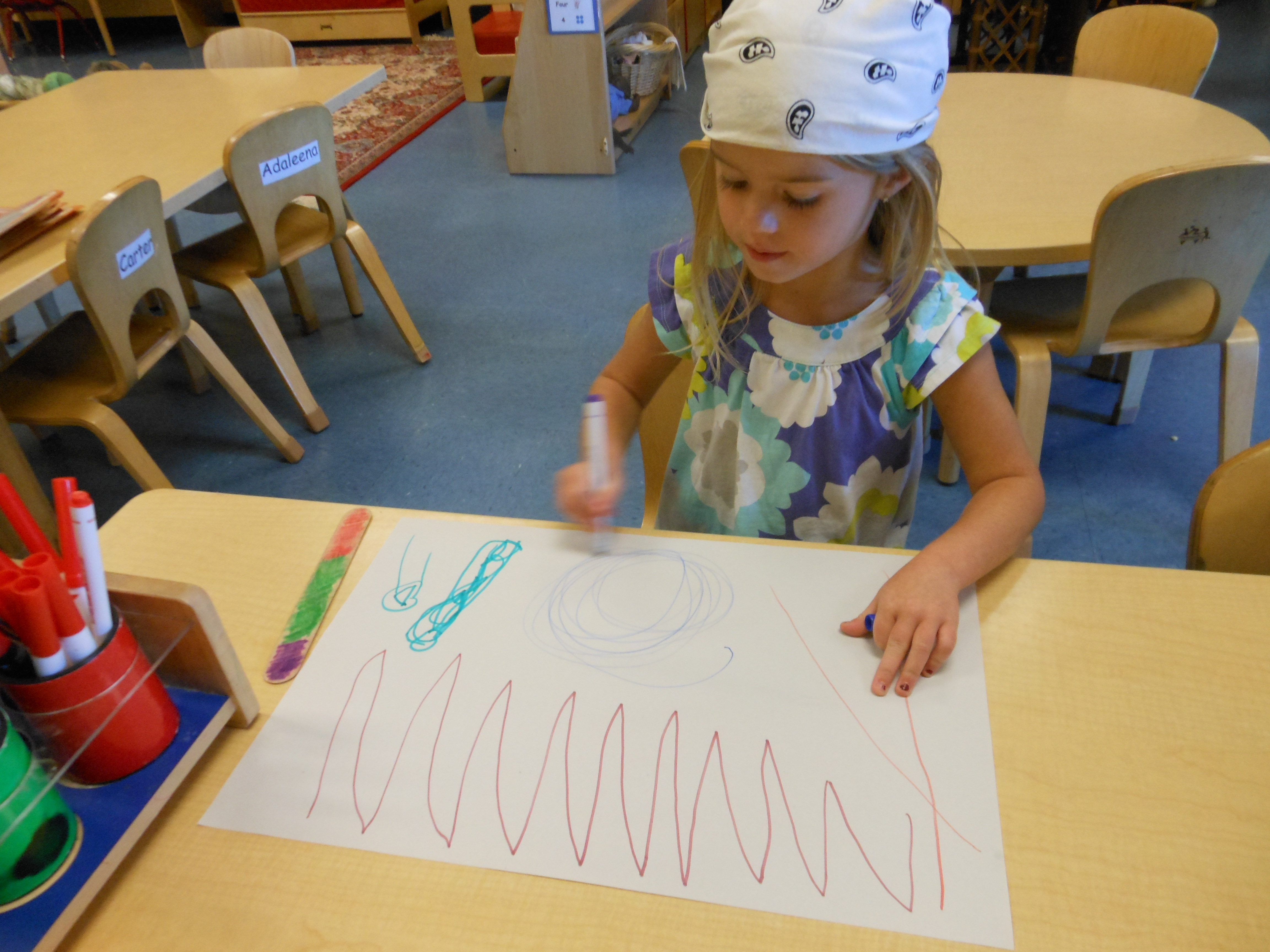student artwork the day nursery indianapolis early edition