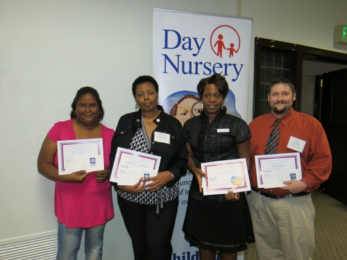 Day Nursery Indianapolis staff honored for 10 years of service