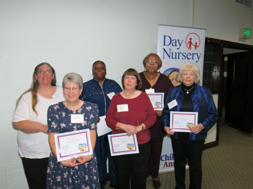 Day Nursery Indianapolis staff with more than 20 years of service