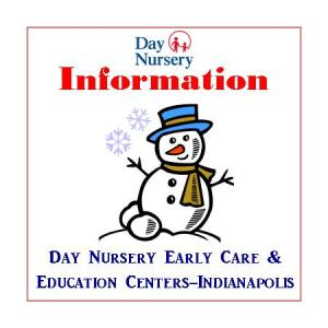 Day Nursery snow day info ID