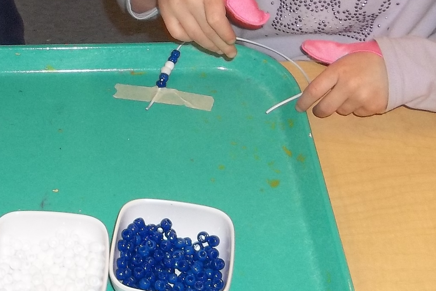 day nursery iu health center celebrates blue friday   day