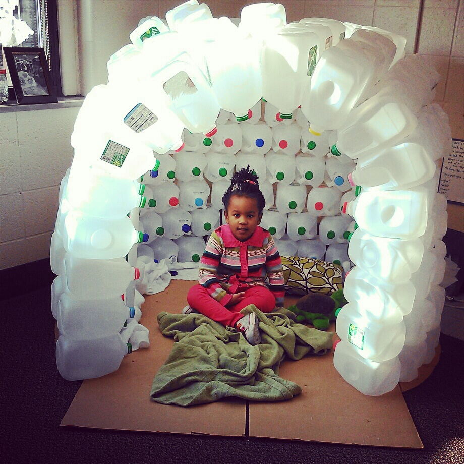 Igloo Is Cozy Space For Day Nursery Preschoolers The Day