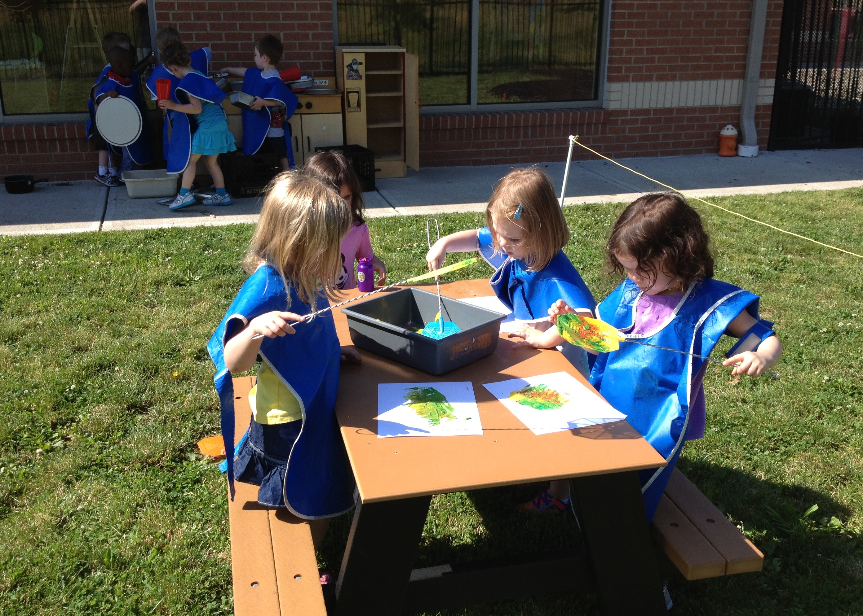 Classroom Ideas For Toddlers : Day nursery outdoor classroom provides meaningful