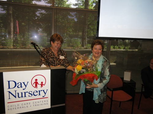 Wanda Kaiser, Day Nursery CFO thanked Carolyn on behalf of the staff.