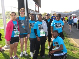 Day Nursery staff competing in the Indiana Sports Corp Corporate Challenge 2012